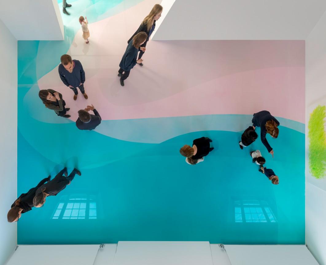 Peter Zimmermann – Peter Zimmermann – Schule von Freiburg – Installationsansicht 1