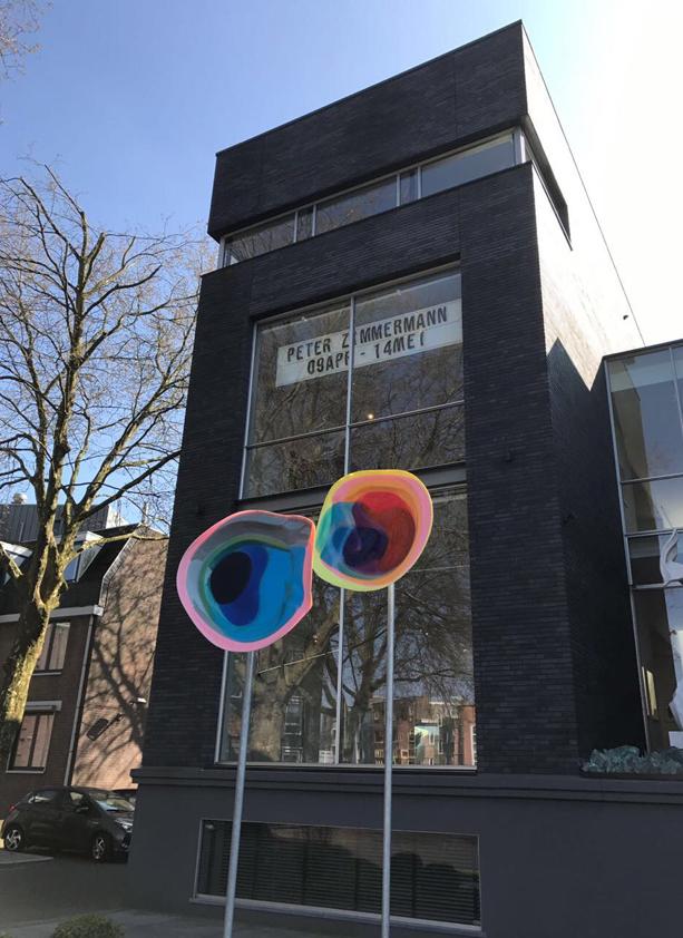 Peter Zimmermann – Installationsansicht, Peter Zimmermann at Mark Peet Visser, 2017