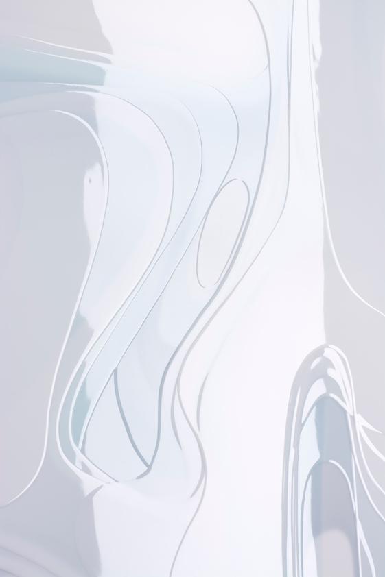 Peter Zimmermann – winter, detail, 2016, 160 x 250 cm, Epoxydharz auf Leinwand