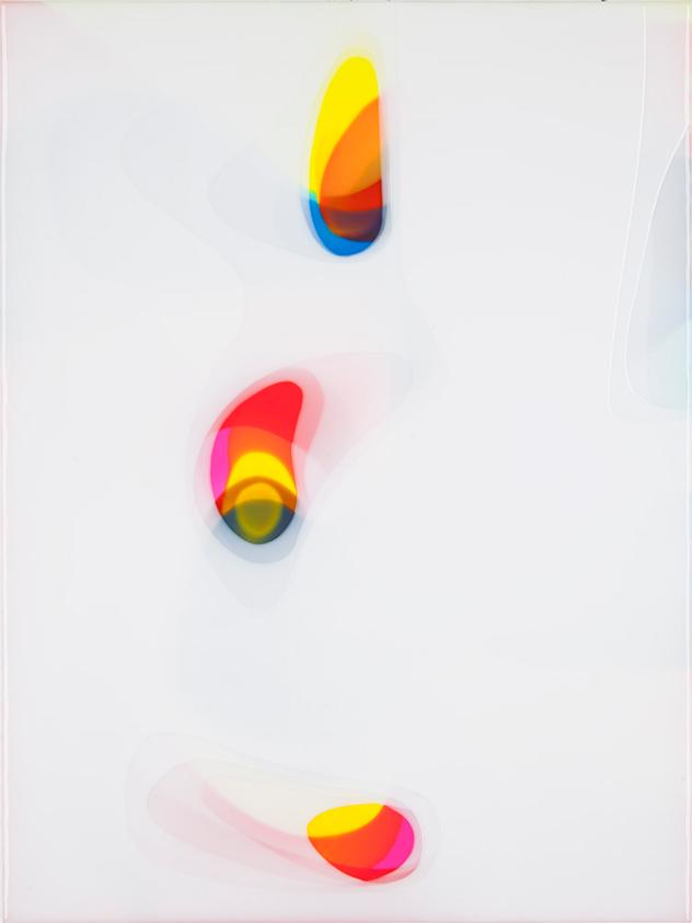 Peter Zimmermann – tiva, 2016, 80 x 60 cm, Epoxidharz auf Leinwand