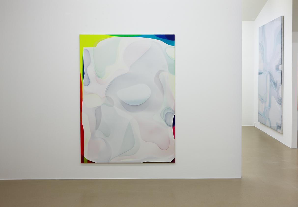 Peter Zimmermann – Installationsansicht, pool, Museum Otterndorf, 2016