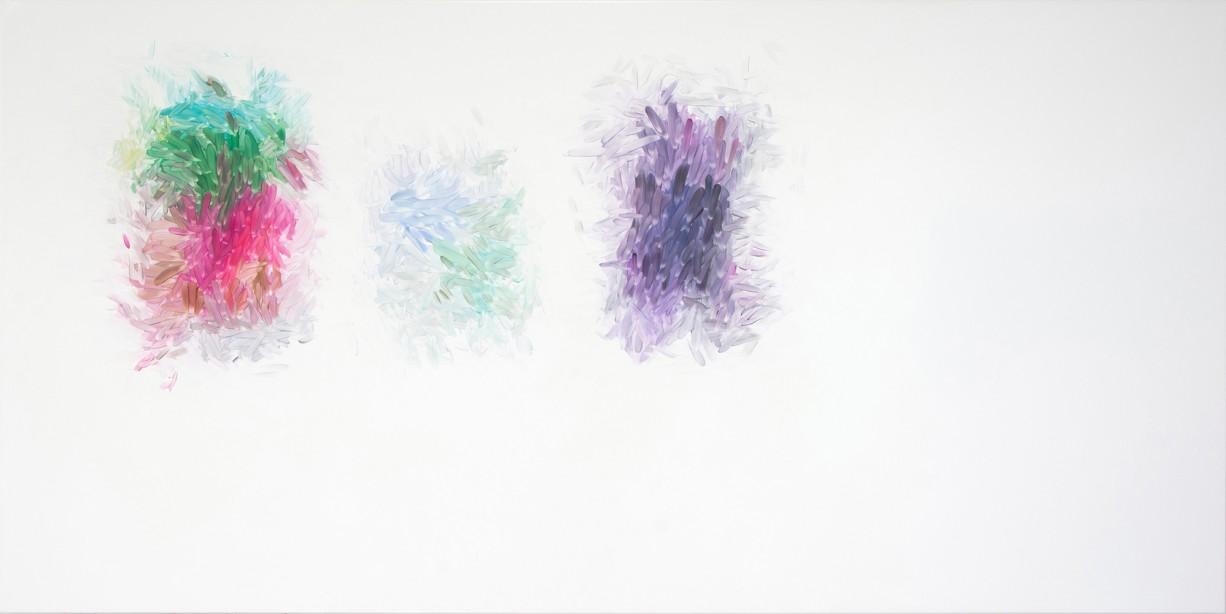 Peter Zimmermann – screenshot, 2015, 150 x 300 cm, oil on canvas