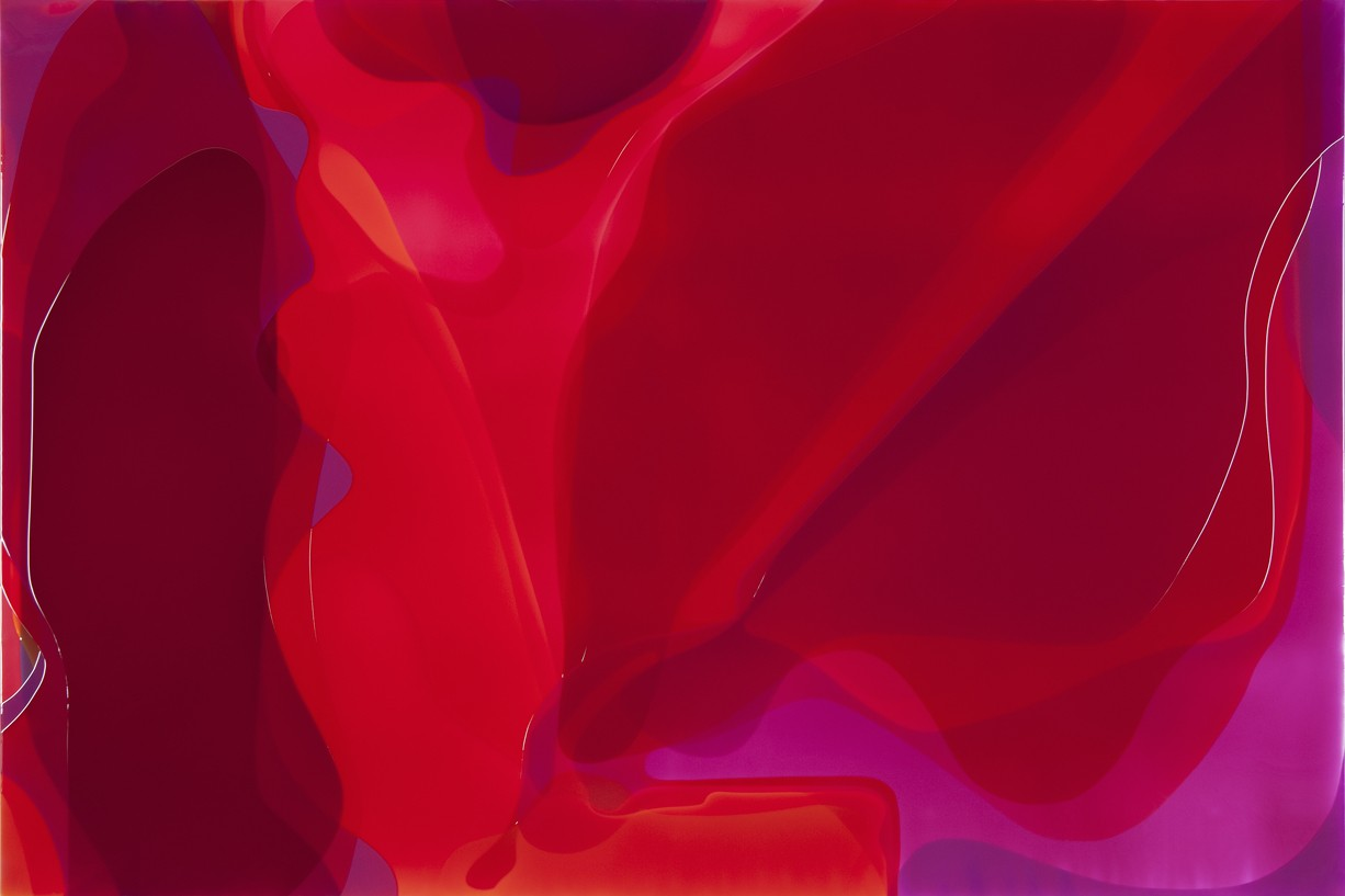 Peter Zimmermann – mojo, 2013, 200 x 300 cm, Epoxid auf Leinwand