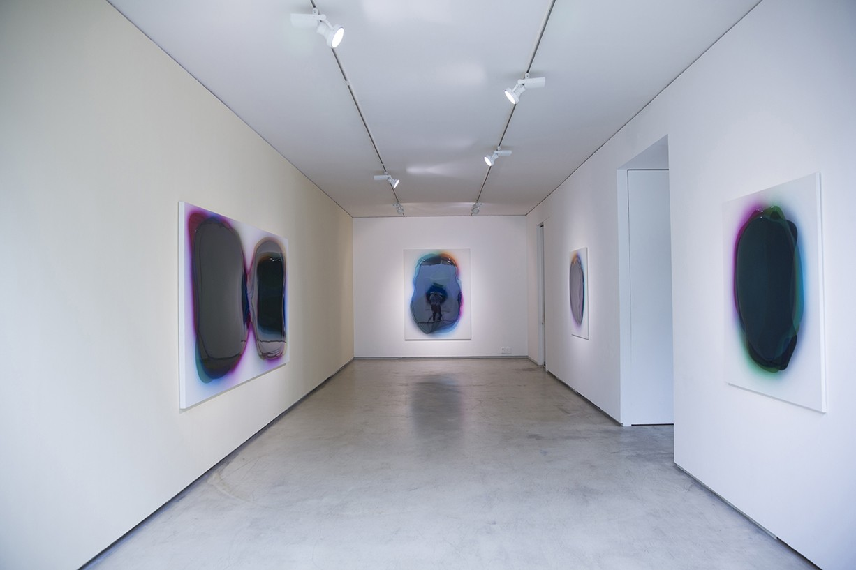 Peter Zimmermann – Johyun Galerie Busan, Korea, 2013 (installation view)