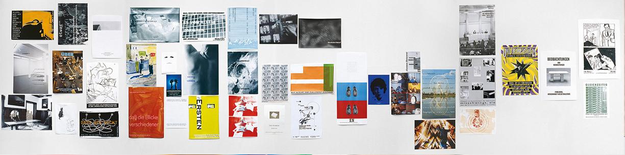 Peter Zimmermann – Plakatwand, 1994, Gallery Tanja Grunert  (installation view)