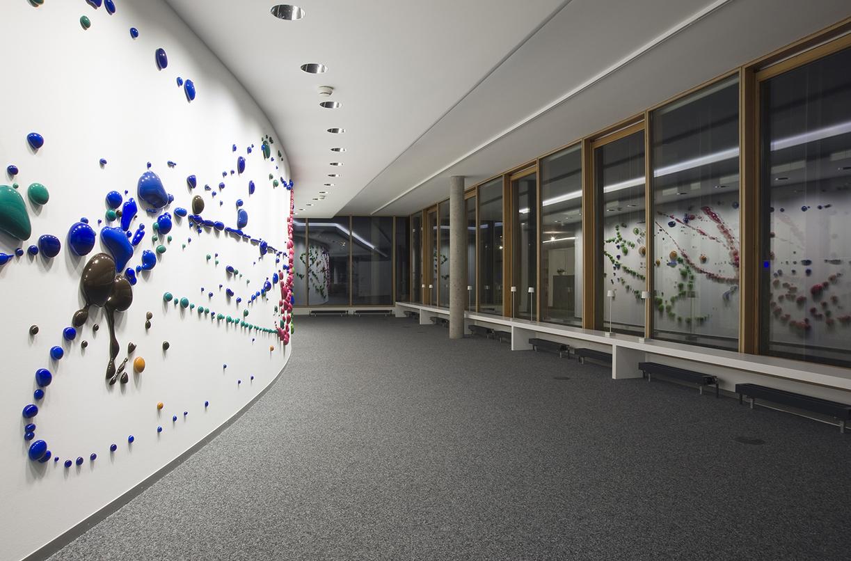 Peter Zimmermann – s.p.i.n., 2013 (installation view)