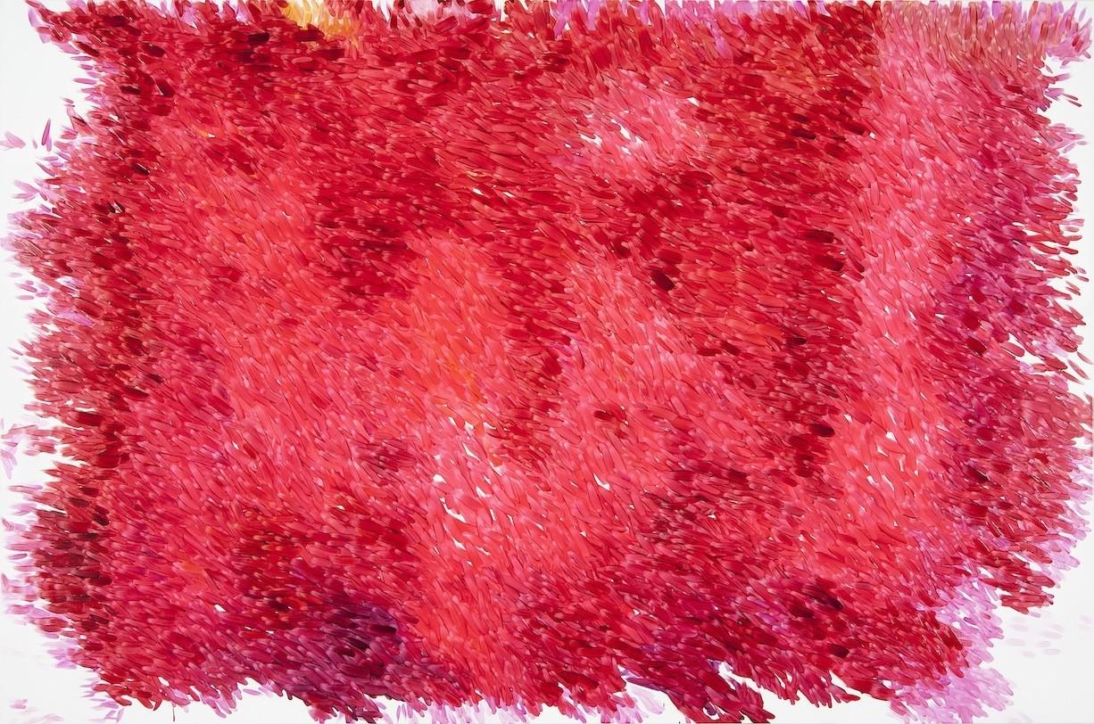 Peter Zimmermann – fleece, 2014, 200 x 300 cm, oil on canvas