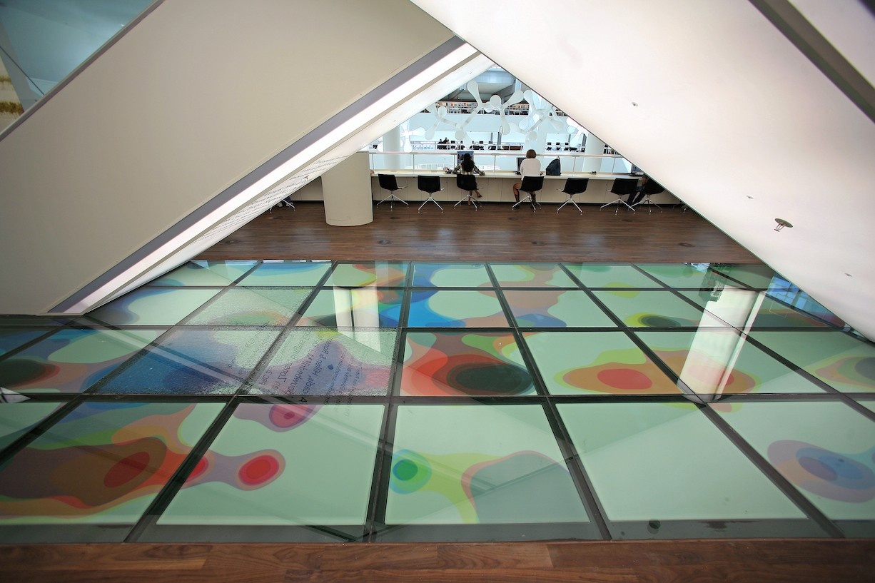Peter Zimmermann – OBA – Public Library Amsterdam, 2007