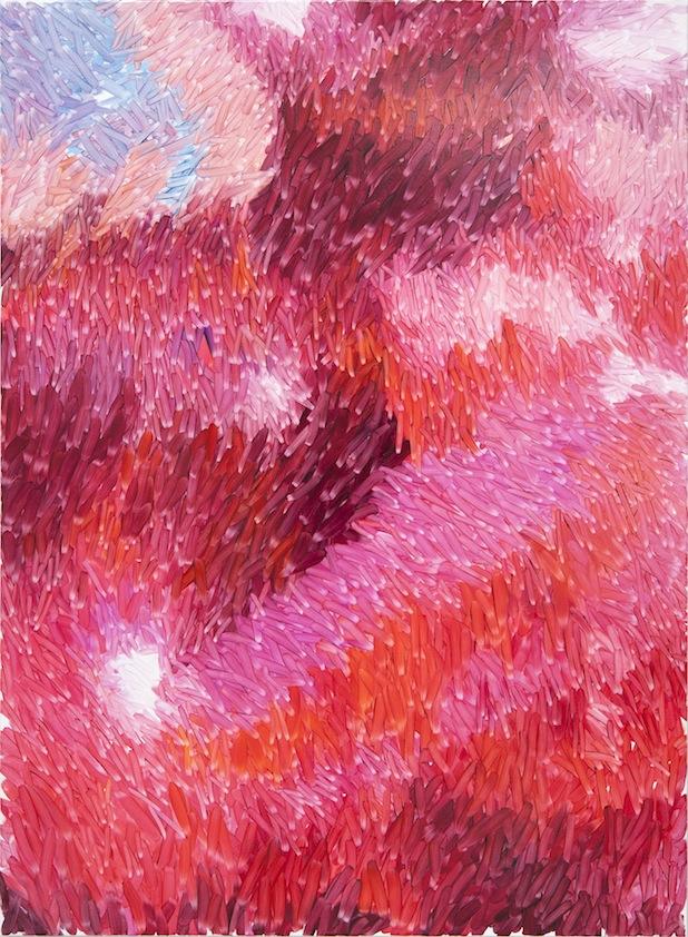 Peter Zimmermann – tune, 2015, 150 x 110 cm, oil on canvas