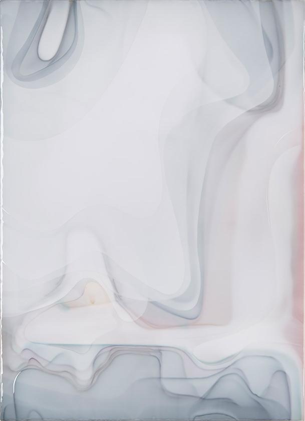 Peter Zimmermann – milk2, 2017, 180 x 130 cm, Epoxidharz auf Leinwand