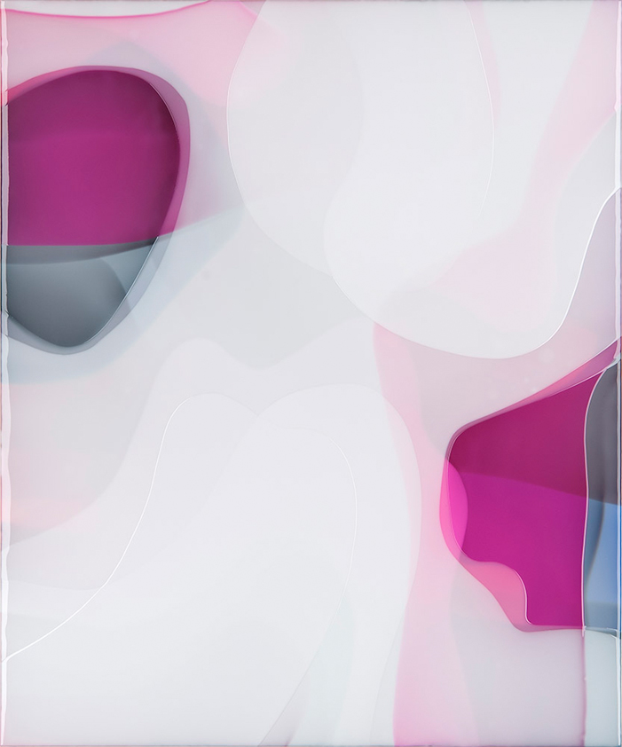Peter Zimmermann – soda, 2017, 120 x 100 cm, Epoxydharz auf Leinwand