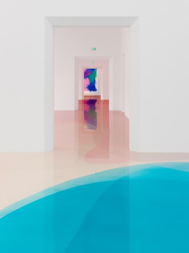 Peter Zimmermann – Installation View, Schule von Freiburg, 2016, epoxy resin
