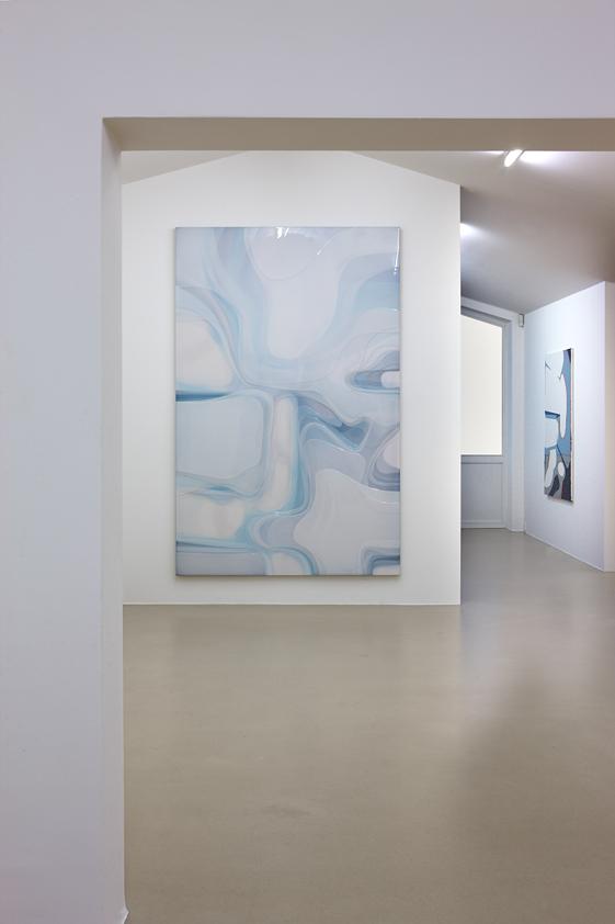 Peter Zimmermann – installation view, pool, Museum Otterndorf, 2016