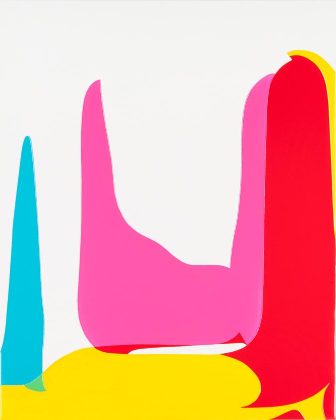 Peter Zimmermann – module, 2015, 150 x 120 cm, epoxy resin on canvas