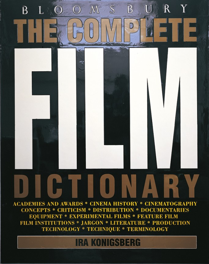 Peter Zimmermann – Film Dictionary, 1995, 200 x 160 cm, epoxy resin on canvas
