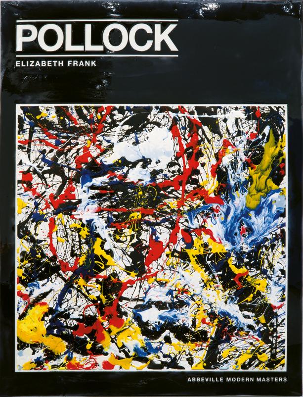 Peter Zimmermann – Pollock Frank 1, 1998, 200 x 150 cm, epoxy resin on canvas
