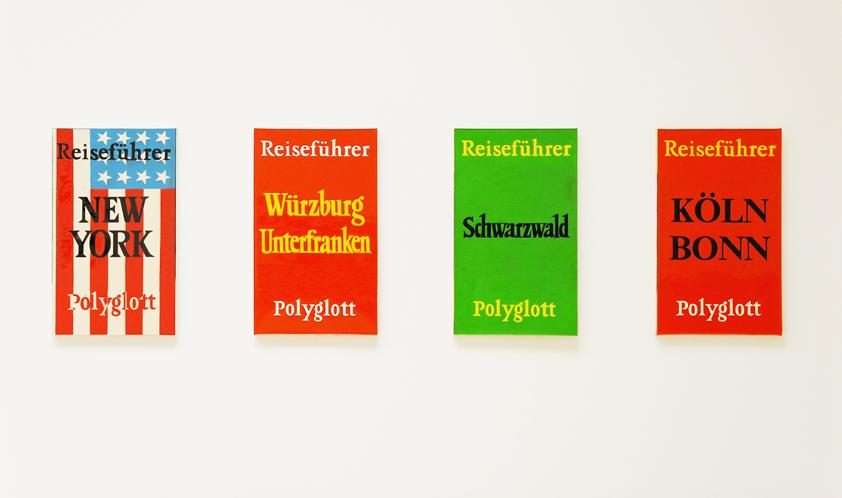 Peter Zimmermann – travel guides, MMKK, Klagenfurt, 2009 (installation view)