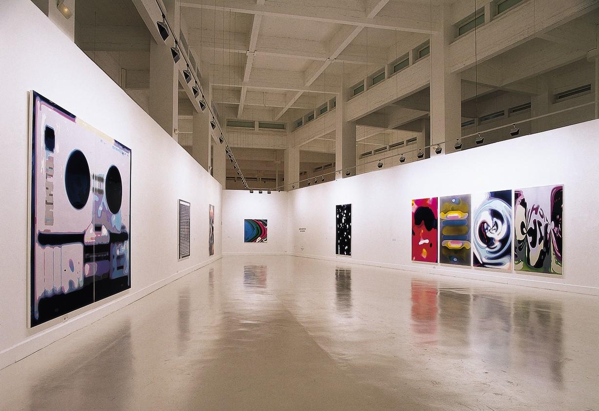 Peter Zimmermann – Capas de Gelatina, CAC Malaga, 2006 (Installationsansicht)