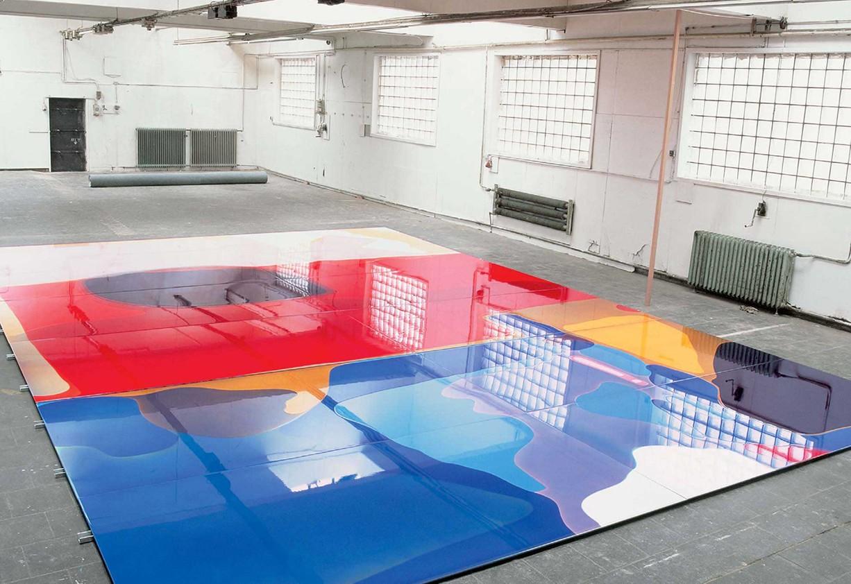 Peter Zimmermann – floor 3, 2007 (in the studio)