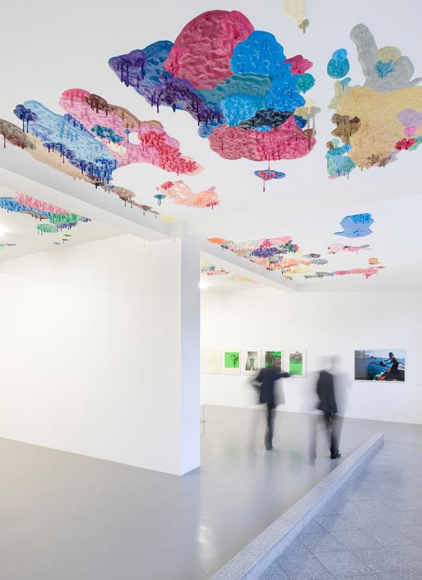 Peter Zimmermann – Farbe im Fluss, Neues Museum Weserburg, Bremen, 2011 (installation view)