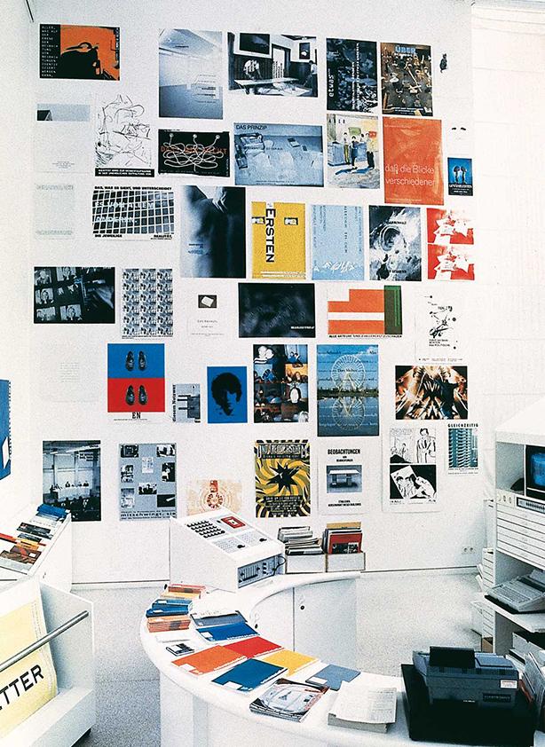 Peter Zimmermann – Plakatwand, 1994, Kunstverein Heidelberg (installation view)