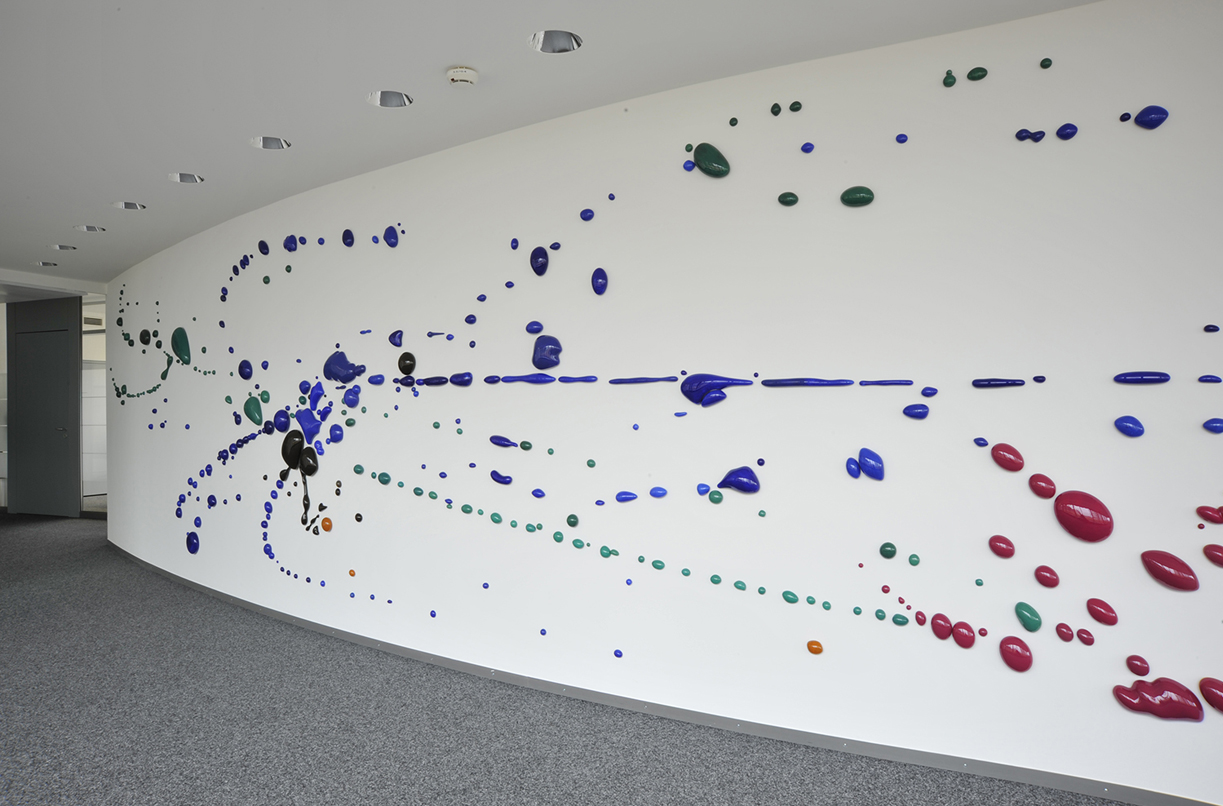 Peter Zimmermann – s.p.i.n., 2013 (installation view)