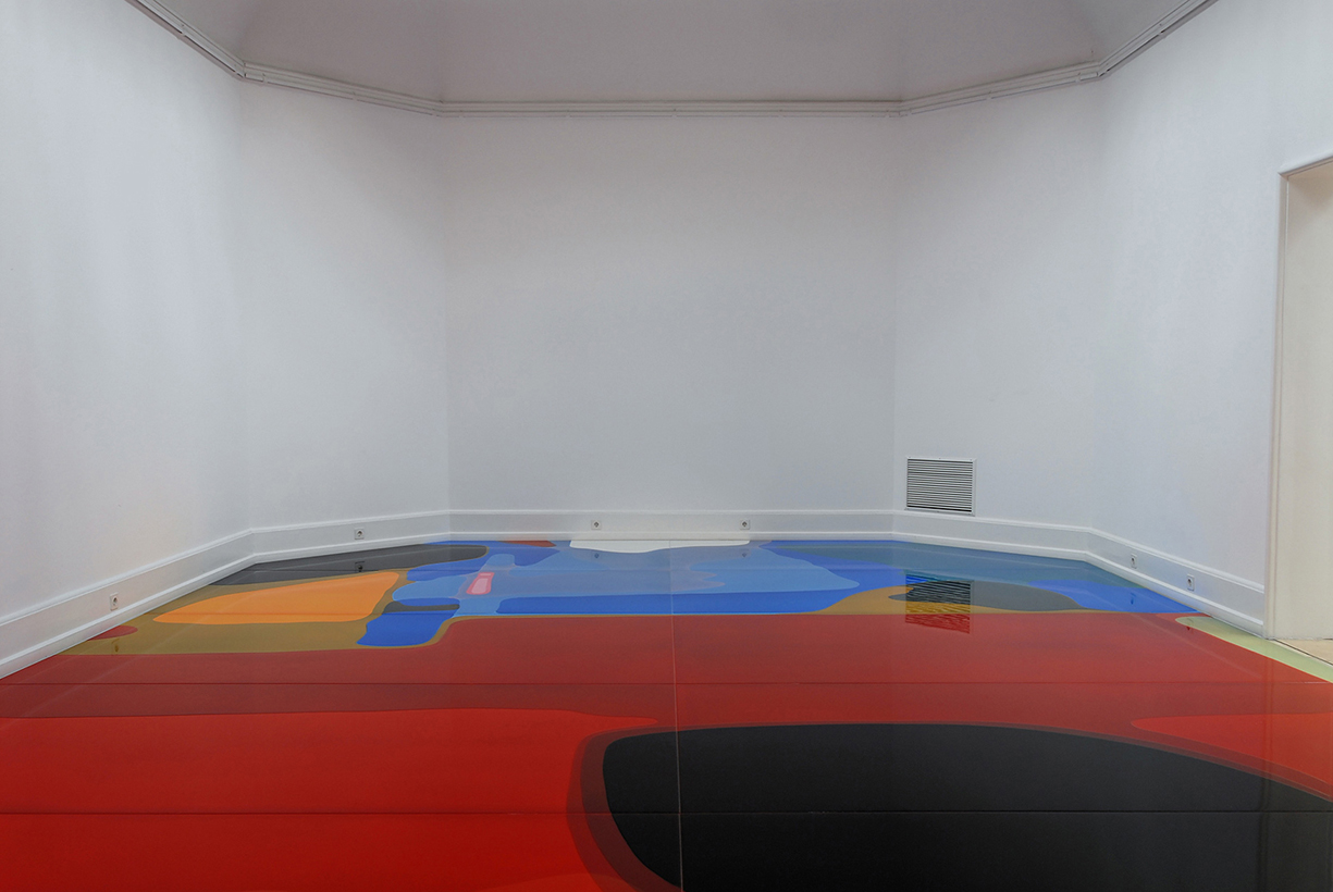 Peter Zimmermann – wheel, Kunsthalle Nürnberg 2007 (installation view)