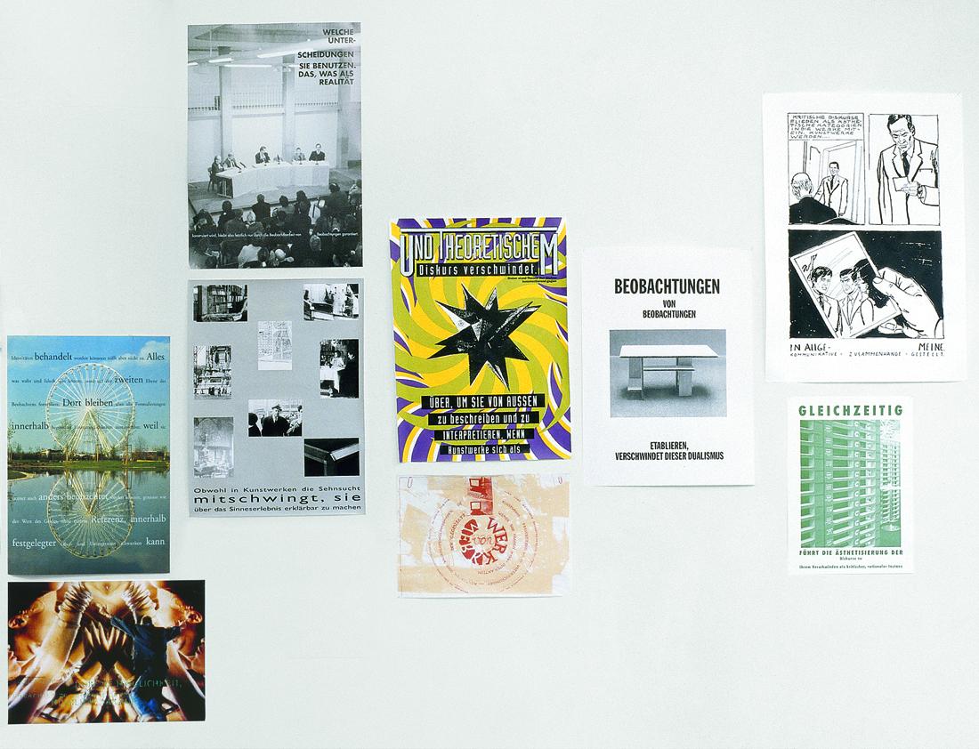 Peter Zimmermann – Plakatwand, Gallery Tanja Grunert  (detail)
