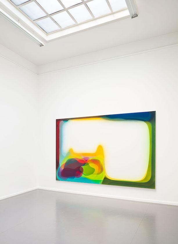 Peter Zimmermann – magazin, 2017, 200 x 300 cm, epoxy resin on canvas