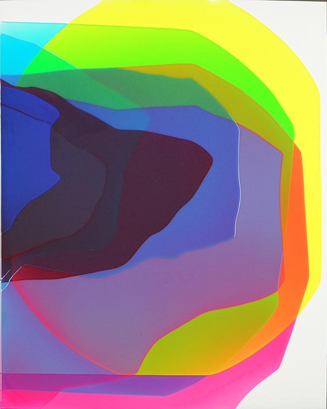 Peter Zimmermann – scala, 2018, 150 x 120, Epoxidharz auf Leinwand