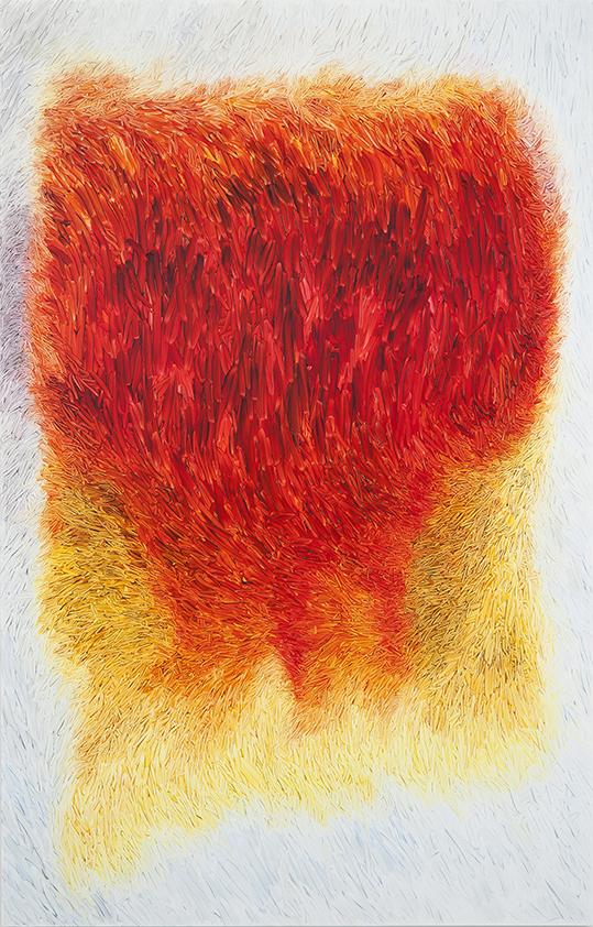 Peter Zimmermann – vincent, 2019, 250 x 160 cm, oil on forex